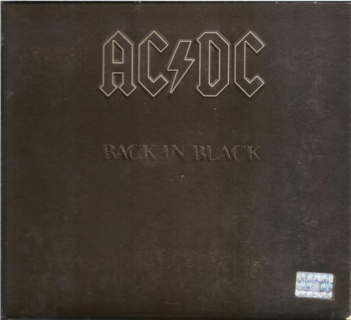 cd ac/dc back in black