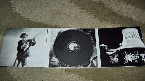 cd ac/dc - back in black / digipack - frete gratis