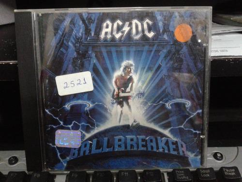 cd - ac/dc - ballbreaker
