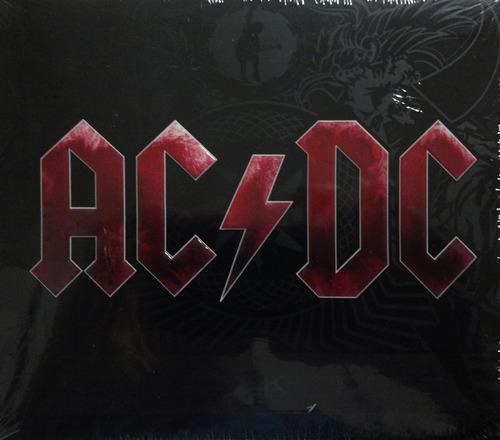cd ac/dc - black ice- novo lacrado digipack.