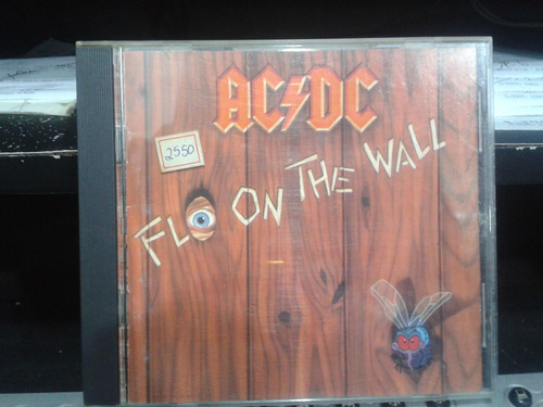 cd - ac/dc - fly on the wall