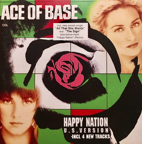 cd ace of base happy nation