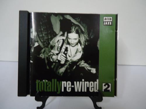 cd acid jazz totally re wired vol.2 - estojo novo