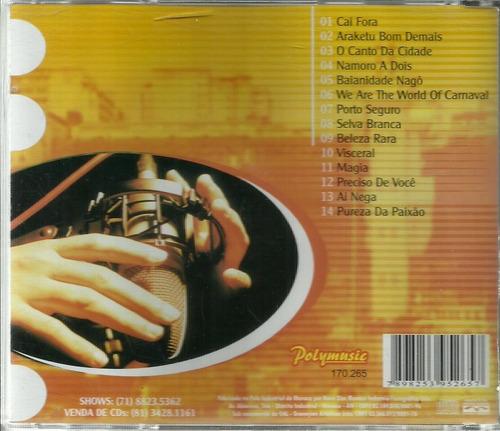 cd acústico bahia patricia costa (axé music)