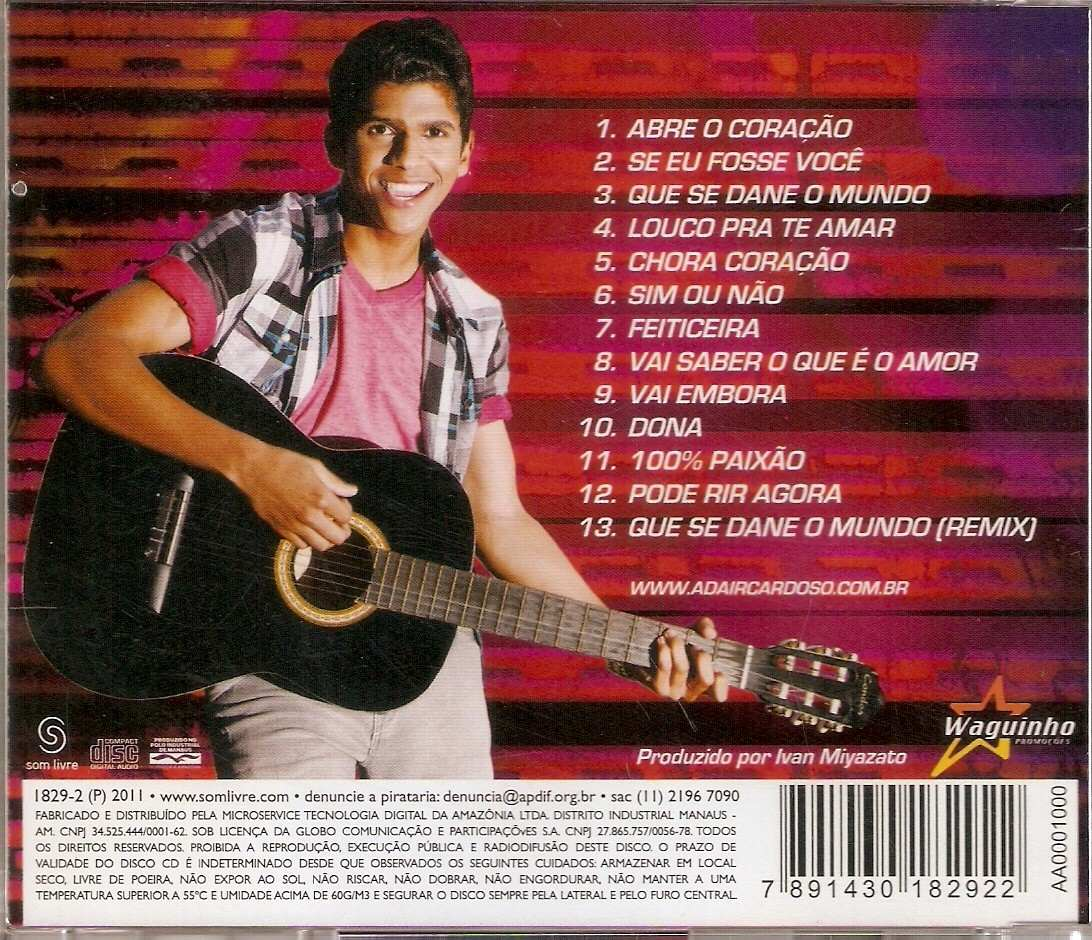 o cd de adair cardoso