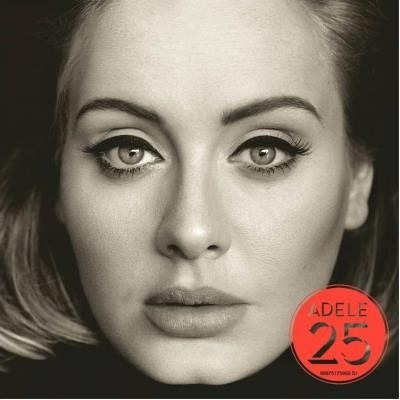 cd adele 25 - original & lacrado!
