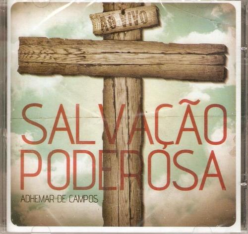 cd adhemar de campos - salvação poderosa - novo***