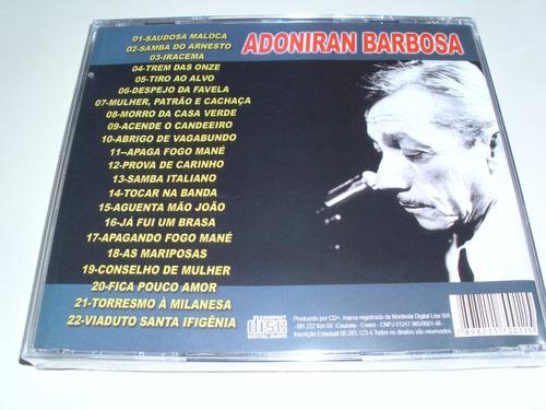 cd adoniran barbosa ! original !