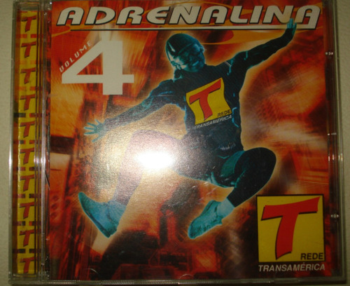 cd adrenalina vol. 4 - transamérica