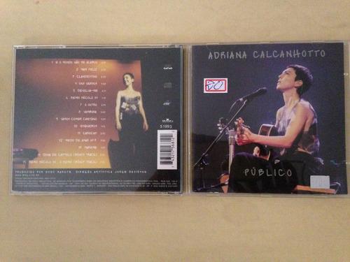 cd -adriana calcanhoto - publico