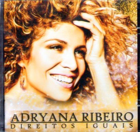 cd adryana ribeiro - direitos iguais - novo lacrado***