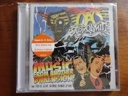 cd aerosmith - music from anotherr dimension (lacrado)