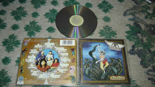 cd aerosmith - nine lives 1997