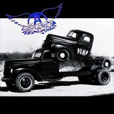 cd - aerosmith - pump