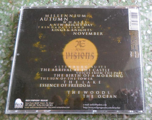 cd aether - visions.
