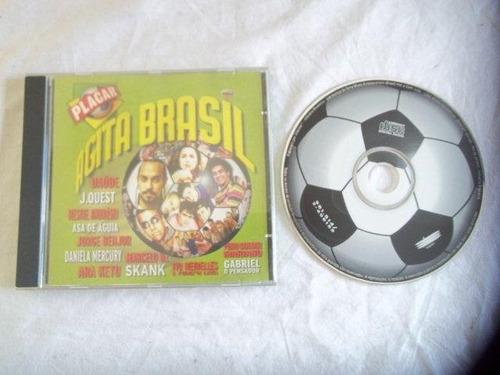 cd - agita brasil - mpb coletânea