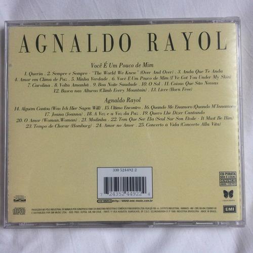 cd agnaldo rayol ( dois em um ) hbs