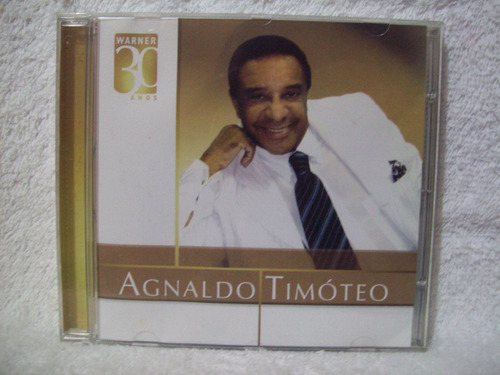 cd agnaldo timóteo- warner 30 anos