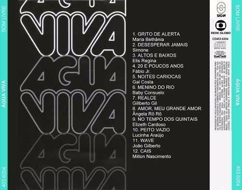 cd - agua viva 1980