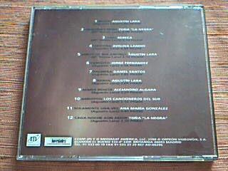 cd agustin lara - homenaje - el y sus mejores interpretes