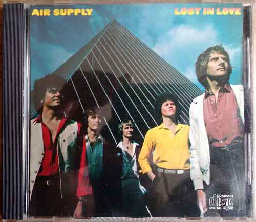 cd air supply - lost in love