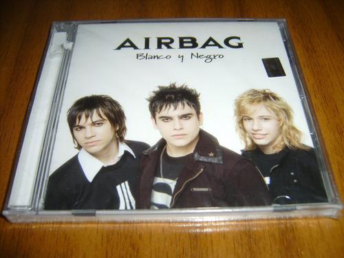 cd airbag / blanco y negro (nuevo y sellado) rock argentino