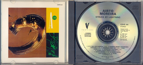 cd airto moreira - struck by lightning - 1989