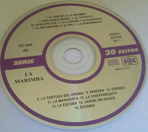 cd al son de la marimba (2 cd's)