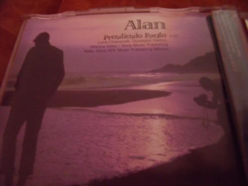 cd alan, prendiendo fuego, sencillo,