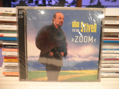 cd alan stivell 70/95 zoom 2 cds importado novo lacrado