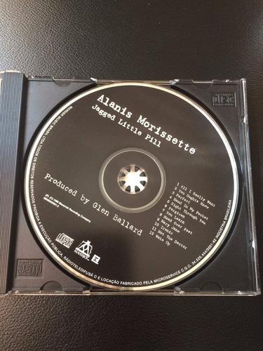 cd alanis morissette - jagged little pill - otimo usado
