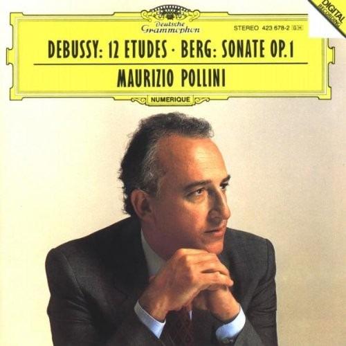 cd alban berg - debussy: 12 etudes / berg: sonate op. 1