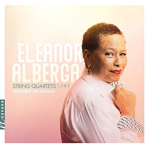 cd : alberga / ensemble arcadiana - string quartets 1-3