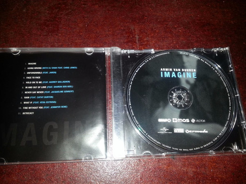 cd album armin van buuren- imagine