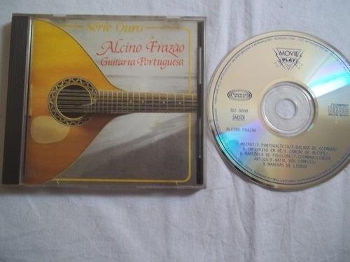 cd - alcino frazão - guitarra portuguesa - blues