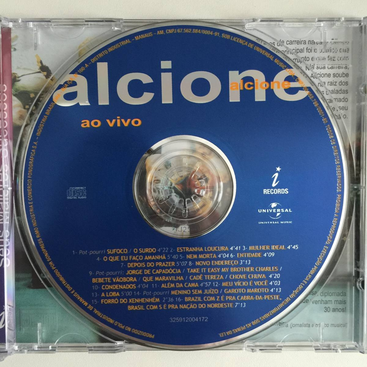 cd alcione ao vivo 2002