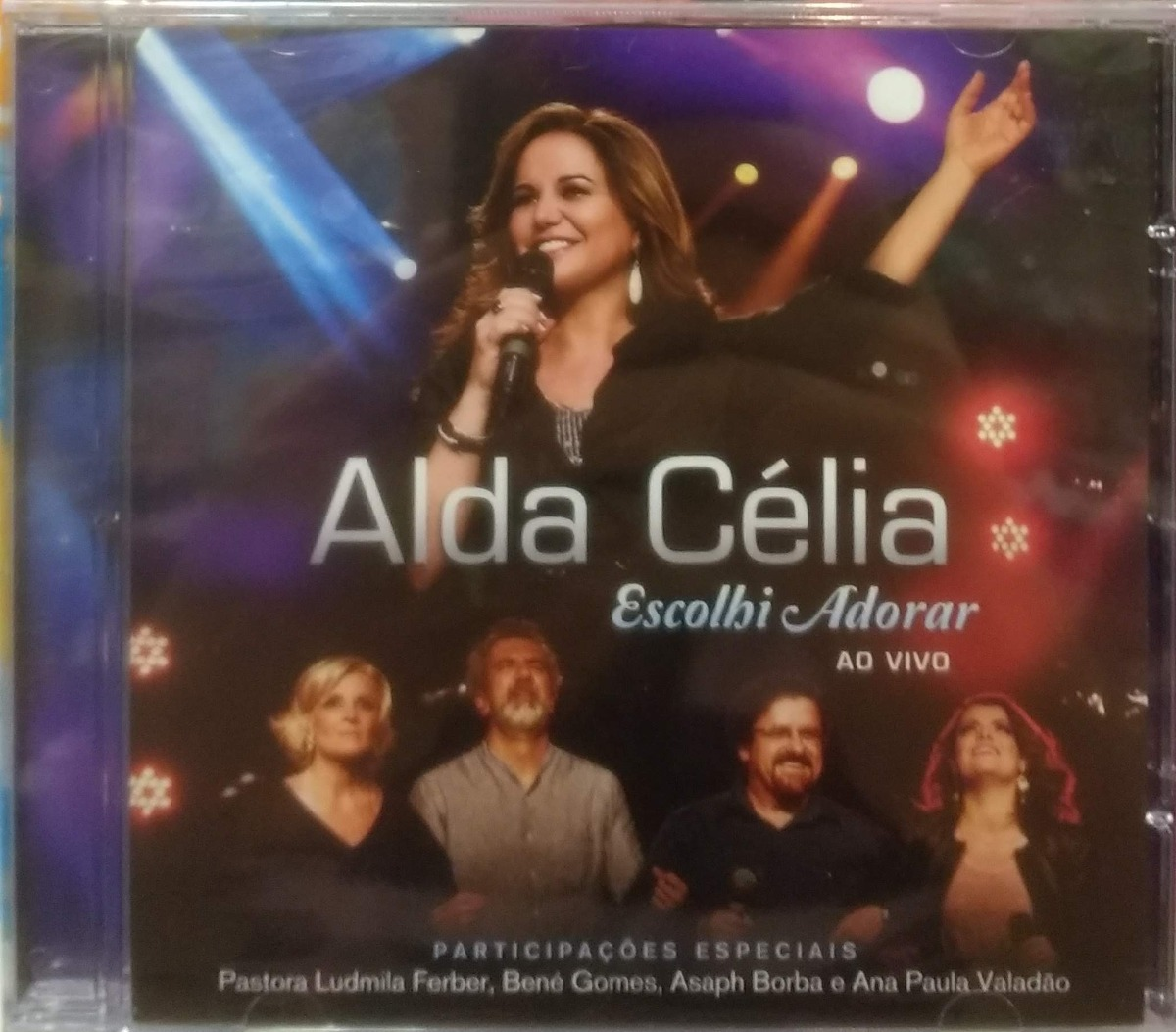 cd alda celia escolhi te adorar