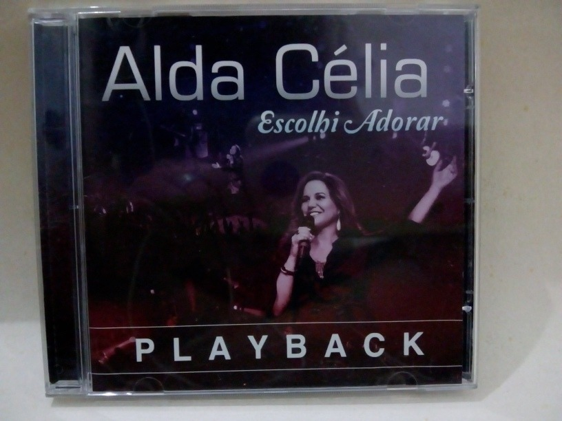 cd alda celia escolhi te adorar playback