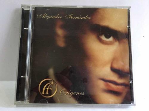 cd alejandro fernández origines 100% original