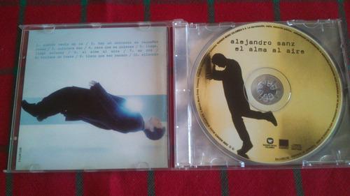cd alejandro sanz (el alma al aire)