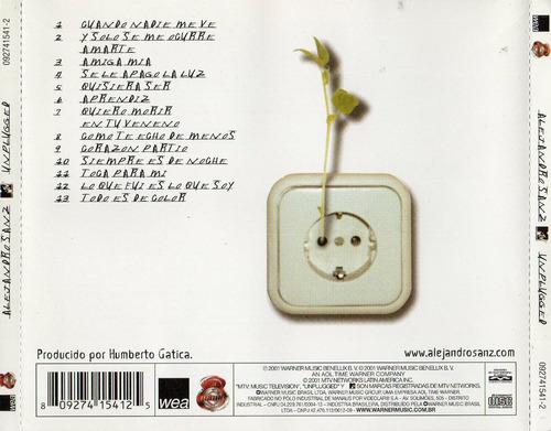 cd alejandro sanz - mtv unplugged