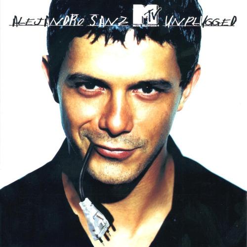 cd alejandro sanz - unplugged mtv(2001) novo original