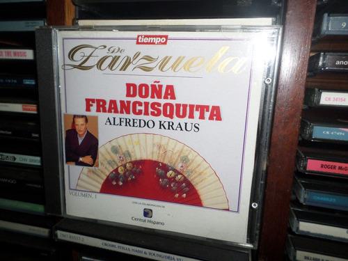 cd alfredo kraus - doña francisquita vol. 1 (importado)