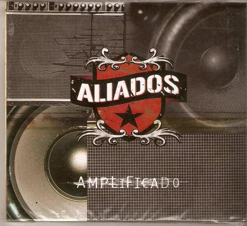 cd-aliados-amplificado-digipack em otimo estado