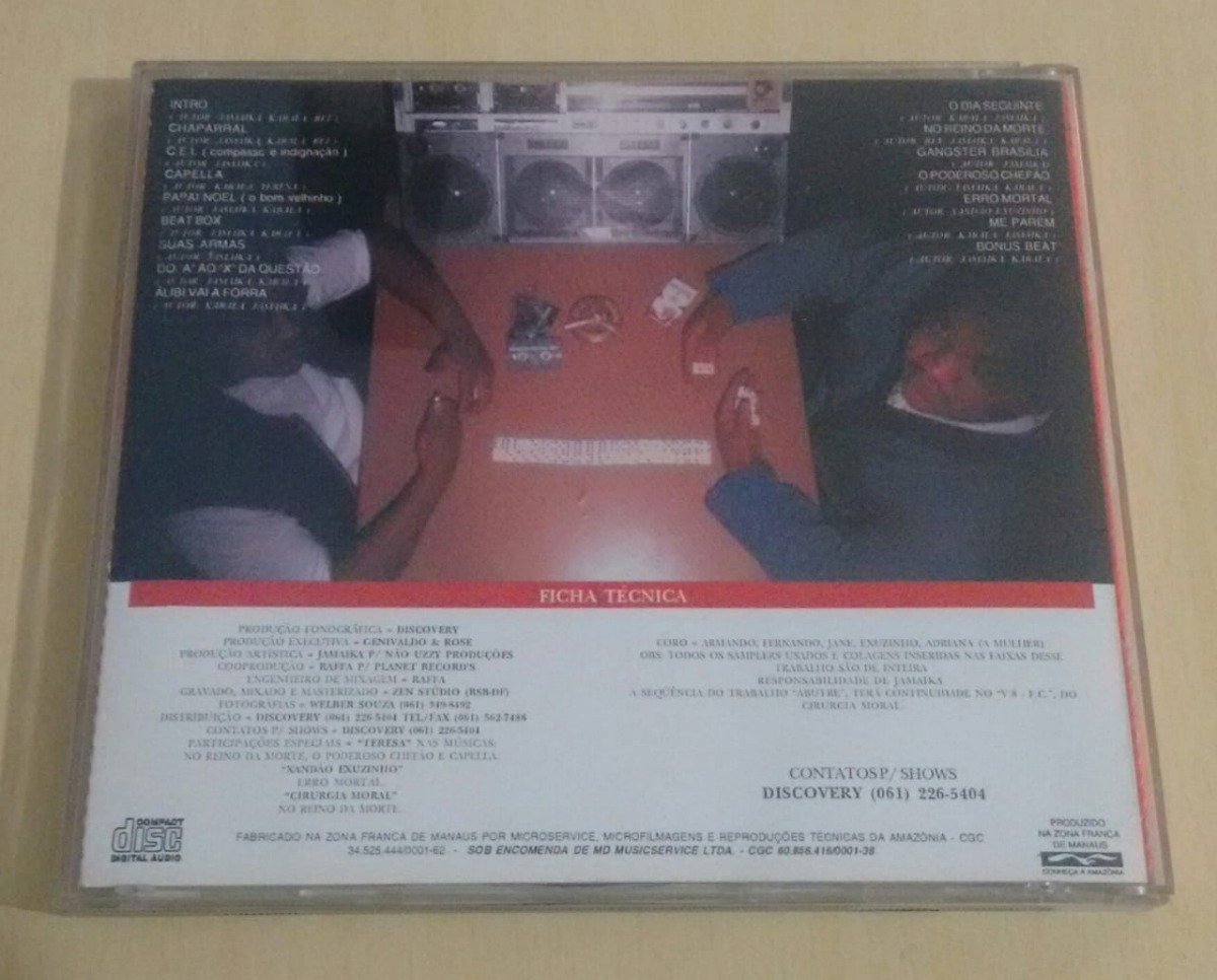 RAP BAIXAR ALIBI CD
