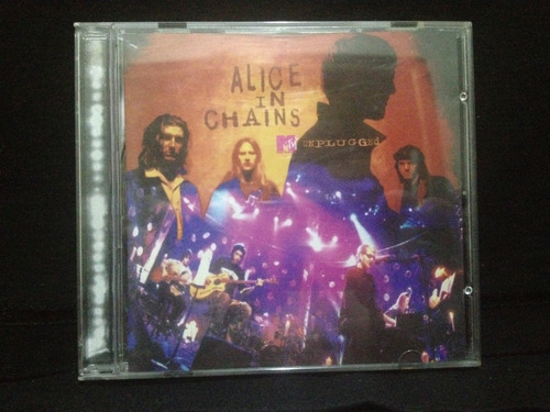 cd - alice in chains - unplugged mtv.