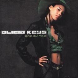 cd-alicia keys-songs in a minor-em otimo estado
