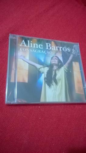 cd aline barros @ consagração  --lacrado--  frete grátis