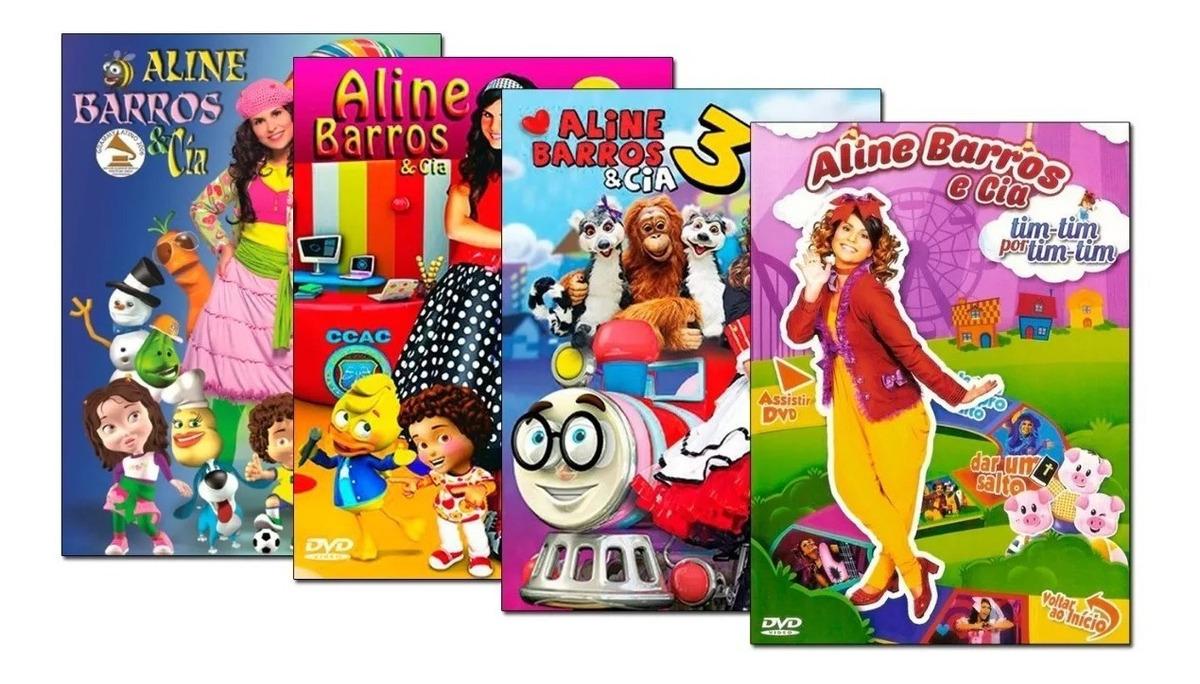 Aline Barros Aline Barros & Cia 2 cd aline barros e cia 55 musiquinhas infantil