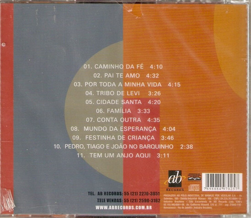cd aline barros - playback vol. 2 - raro novo***